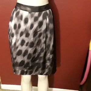 NWT! Adorable leopard print flowy skirt w pockets!